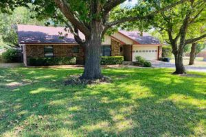 1501 Wofford Drive, Burnet, TX exterior front yard