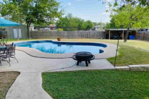 1501 Wofford Drive, Burnet, TX exterior patio and swimming pool