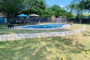 1501 Wofford Drive, Burnet, TX exterior backyard and swimming pool