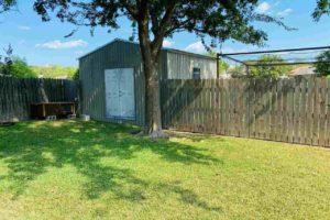 1501 Wofford Drive, Burnet, TX exterior backyard storage shed