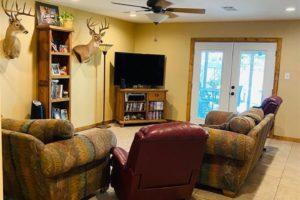 1501 Wofford Drive, Burnet, TX interior living room