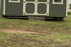 2011 CR 118 Burnet TX 78611 exterior storage shed