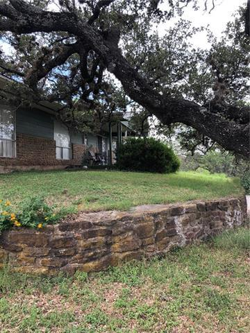 131 Dukes Drive, Horseshoe Bay, TX 78657 front yard