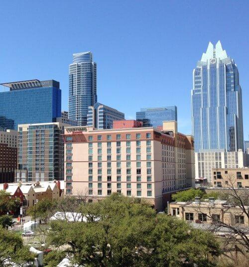 Downtown Austin, Texas buildings