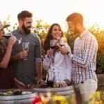 Texas Hill Country vineyard wine tasting