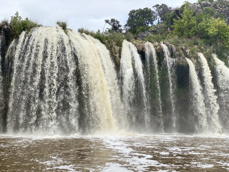 Waterfall near Marble Falls in the Texas Hill Country