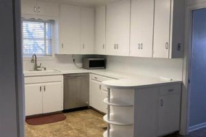 101 N Harrell St in Lampasas TX interior kitchen