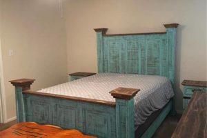 1701 Oak Street in Burnet TX bedroom