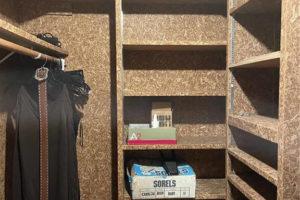 1701 Oak Street in Burnet TX bedroom closet