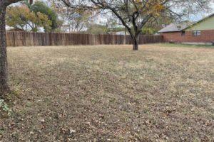 1701 Oak Street in Burnet TX large fenced-in backyard