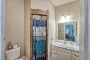 206 E Post Oak St in Burnet, TX master bathroom
