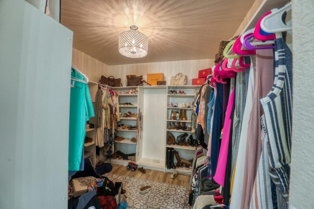 220 Rain Lily Ct. Burnet, TX closet