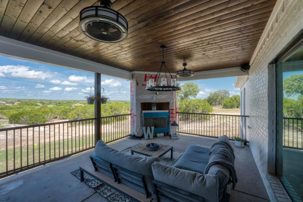 220 Rain Lily Ct. Burnet, TX patio