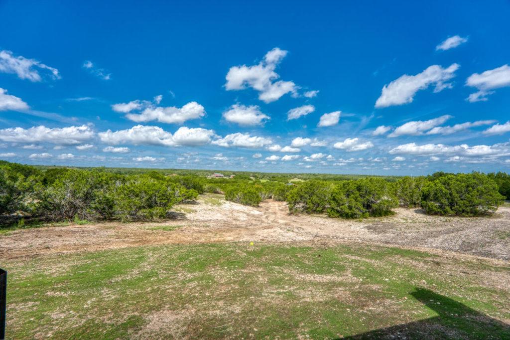 220 Rain Lily Ct. Burnet, TX backyard view