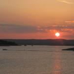 Lake Buchanan at sunset in Burnet County, Texas